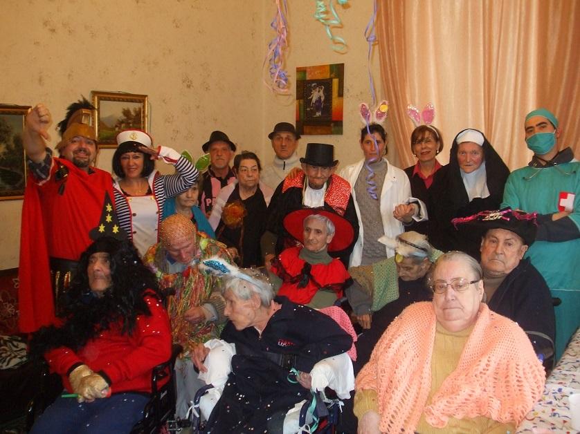 Festa di Carnevale nella Casa di Riposo