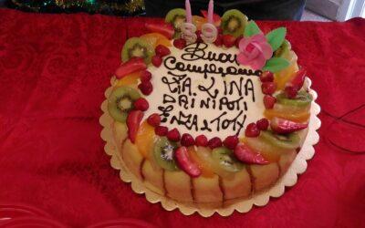 Compleanno della Zia Lina in Casa Famiglia