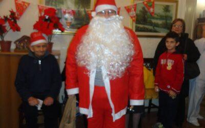 Babbo Natale nella Casa Santa Brigida