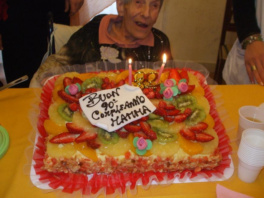 Festa di compleanno della Nonnina Paola